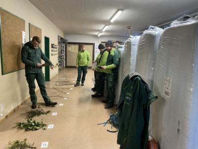 Ausbildung: Innerbetrieblicher Unterricht - Pflanzentest