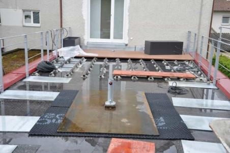 Umgestaltung Dachterrasse