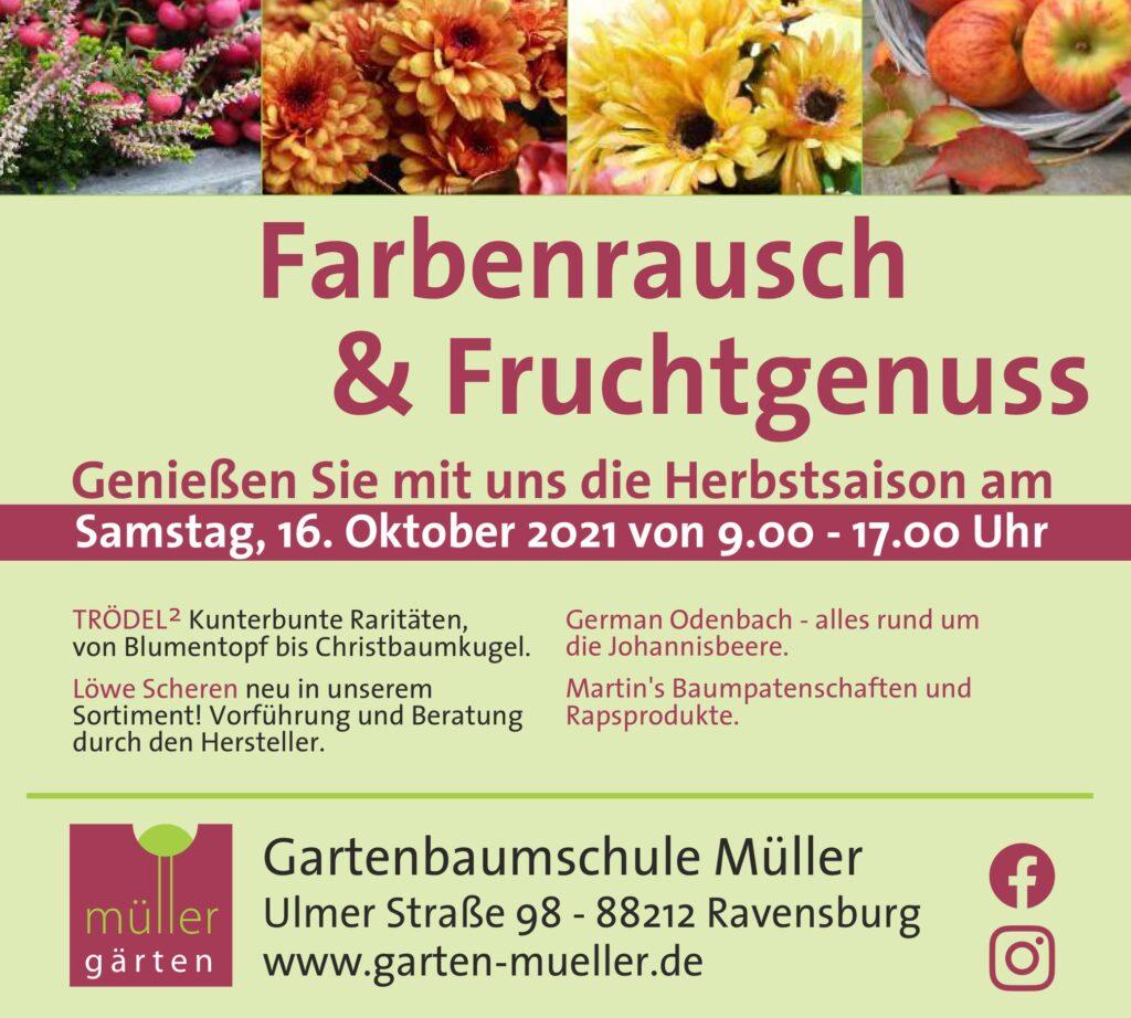 Farbenrausch & Fruchtgenuss
